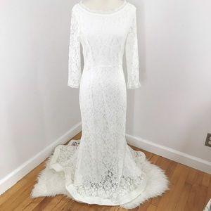 Venus Lace Wedding Gown Mermaid US 16